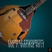 Country Favourites, Vol. 7: Vintage 40's I de Various Artists