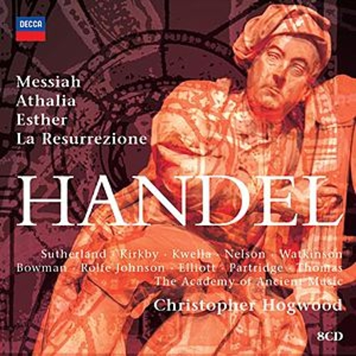 Hogwood conducts Handel Oratorios by Various Artists