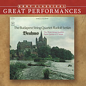 Brahms: The Three String Quartets, Op. 51 & Op. 67; Piano Quintet in F minor, Op. 34 [Great Performances] by Various Artists