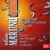 Martinů:  Compositions for Wind Instruments and Piano von Various Artists