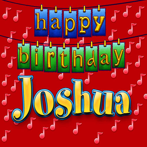 Happy Birthday Cake Joshua Images ~ Happy birthday joshua personalized by ingrid dumosch