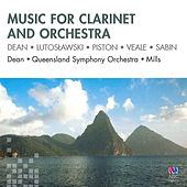 Music for Clarinet and Orchestra by Paul Dean