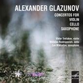 Glazunov: Consertos for Violin, Cello and Saxophone de Various Artists