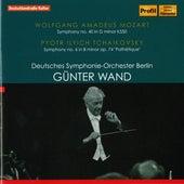 Mozart: Symphony No. 40 - Tchaikovsky: Symphony No. 6 by Deutsches Symphonie-Orchester Berlin