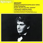Mozart: Violin Concertos de Yehudi Menuhin