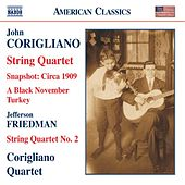 CORIGLIANO: String Quartets Nos. 1 and 2 / Black November Turkey by Corigliano Quartet