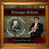 G.P. Telemann: Heldenmusik in D Major For 2 Trumpets, Organ and Timpani, No. 1: Maestoso by Giuseppe Galante