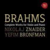 Brahms:  Violin Sonatas by Nikolaj Znaider; Yefim Bronfman