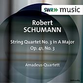 R. Schumann: String Quartet No. 3, Op. 41 by Amadeus Quartet