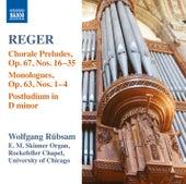 Reger: Organ Works, Vol. 15 de Wolfgang Rubsam