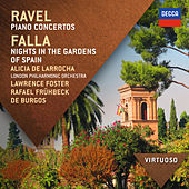 Ravel:  Piano Concertos; Falla: Nights In The Gardens Of Spain von Alicia De Larrocha
