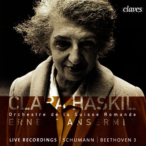 Clara Haskil in Geneva & Montreux by Clara Haskil