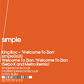 Welcome To Zion by King Roc