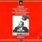 Chopin: Piano Concerto No. 1, The 4 Ballades von Claudio Arrau