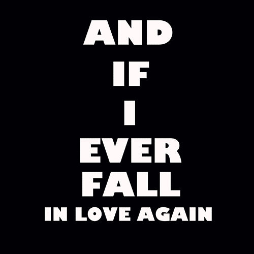 And If I Ever Fall In Love Again Chorus Single By Rb Tones