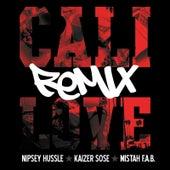 Cali Love (Cali Plug) [Remix] [feat. Mistah F.A.B.] di Nipsey Hussle