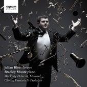 Julian Bliss & Bradley Moore: Works by Debussy, Glinka, Milhaud, Françaix & Prokofiev de Bradley Moore