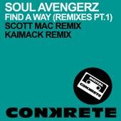 Find A Way (Remixes Part 1) by Soul Avengerz