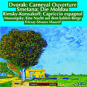 Dvorak: Carnival Overture Op.92 - Rimsky-Korsakov: Capriccio Espagnol Op. 34 - Smetana: Die Moldau - Mussorgsky: A Night on the Bare Mountain (Remastered) von Berlin Philharmonic Orchestra and Berlin Radio Symphony Orchestra