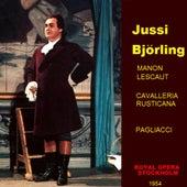 Manon Lescaut ,cavalleria Rusticana , Pagliacci de Jussi Bjorling
