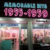 Memorable Hits 1955-1959, Vol. 6 de Various Artists