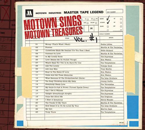 Motown Sings Motown Treasures by Various Artists
