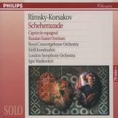 Rimsky-Korsakov: Scheherazade; Capriccio Espagnol; Russian Easter Overture by Various Artists