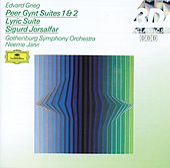 Grieg: Peer Gynt Suites Nos.1 & 2; Lyric Suite; Sigurd Jorsalfar de Göteborgs Symfoniker