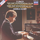 Bach, J.S.: Two and Three Part Inventions de András Schiff