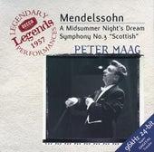 Mendelssohn: Symphony No.3; A Midsummer Night's Dream by Various Artists
