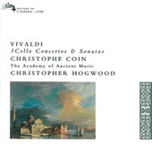 Vivaldi: 3 Cello Concertos & Sonatas de Christophe Coin