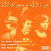 25 Singers - 25 Songs by Various Artists