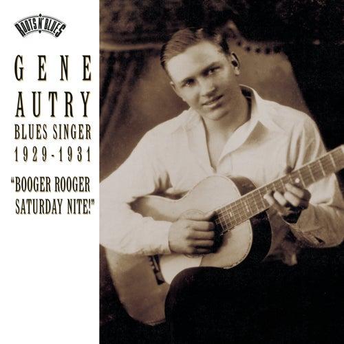 Gene Autry: Blues Singer 1929-1933 by Gene Autry