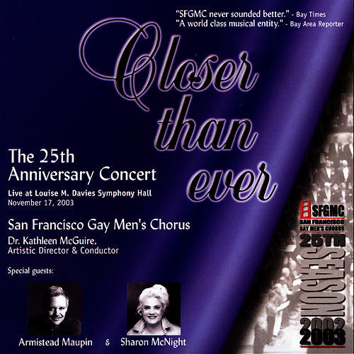 Closer Than Ever by San Francisco Gay Men's Chorus