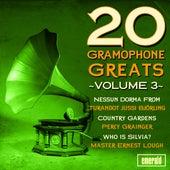 20 Gramophone Greats - Vol. 3 de Various Artists