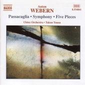 Webern: Passacaglia / Symphony / Five Pieces de Anton Webern