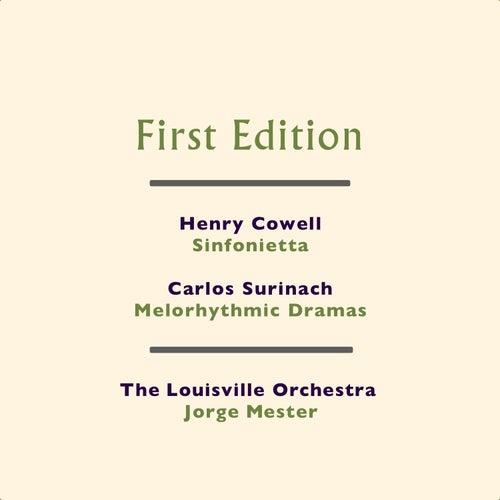 Henry Cowell: Sinfonietta - Carlos Surinach: Melorhythmic Dramas by Jorge Mester