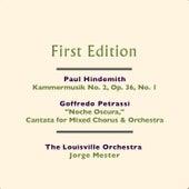 Paul Hindemith: Kammermusik No. 2, Op. 36, No. 1 - Goffredo Petrassi: