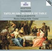 Telemann: Tafelmusik (Trios und Quartette) by Various Artists