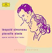 Opera recitals and lieder von Léopold Simoneau