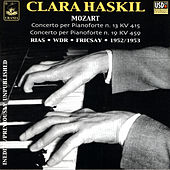 Clara Haskil Plays Mozart by Ferenc Fricsay