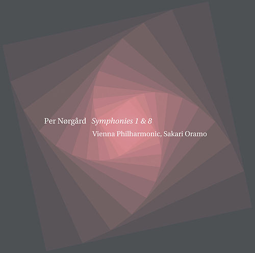 Nørgård: Symphonies Nos. 1 & 8 by Wiener Philharmoniker