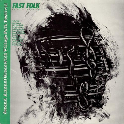 Fast Folk Musical Magazine (Vol. 4, No. 10) Second Annual Greenwich Village Folk Festival by Various Artists