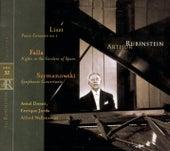 Liszt, Szymanowski, Falla de Arthur Rubinstein
