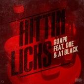 Hittin Licks (feat. Dre & A1 Black) de El Guapo