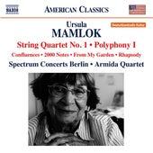 Mamlok: String Quartet No. 1 - Polyphony No. 1 von Various Artists