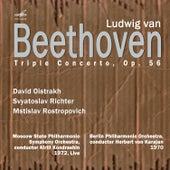 Beethoven: Triple Concerto for Violin, Cello, and Piano in C Major, Op. 56 von Svyatoslav Richter