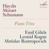 Haydn, Mozart & Schumann: Piano Trios de Mstislav Rostropovich