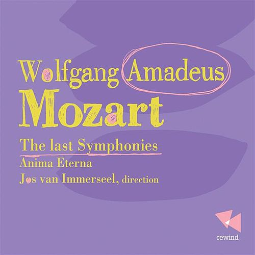 Mozart: The Last Sympbonies by Anima Eterna Orchestra