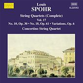 Spohr: String Quartets, Vol. 17 by Moscow Philharmonic Concertino String Quartet